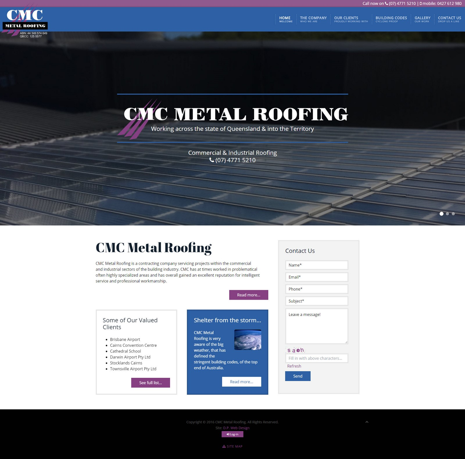 cmc01 CMC Metal Roofing