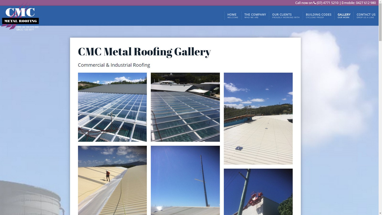 cmc03 CMC Metal Roofing