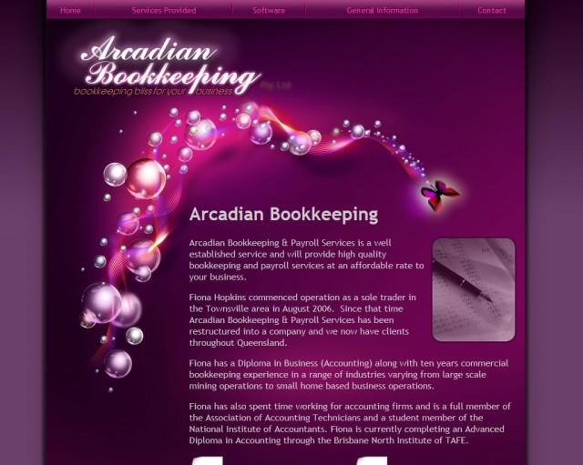 Arcadian Bookkeeping