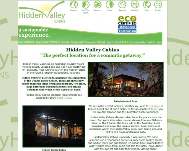 Hidden Valley Cabins