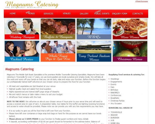 Magnums Catering